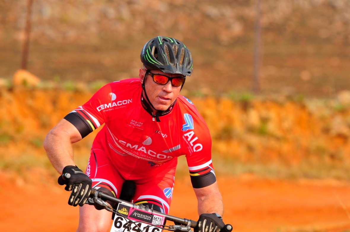 Dullstroom Mountain Bike Rider